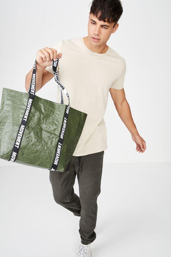 Foundation  Large Shopper, HIKING GREEN