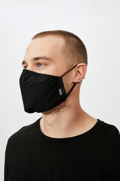 Foundation Mask Typo, BLACK