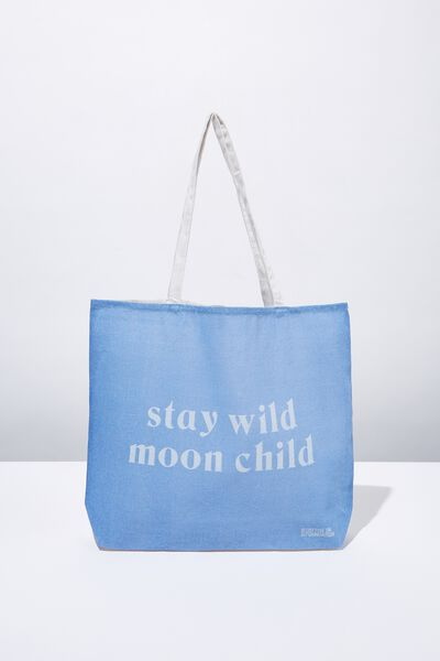 Foundation Tote Bag Adults, MOON CHILD