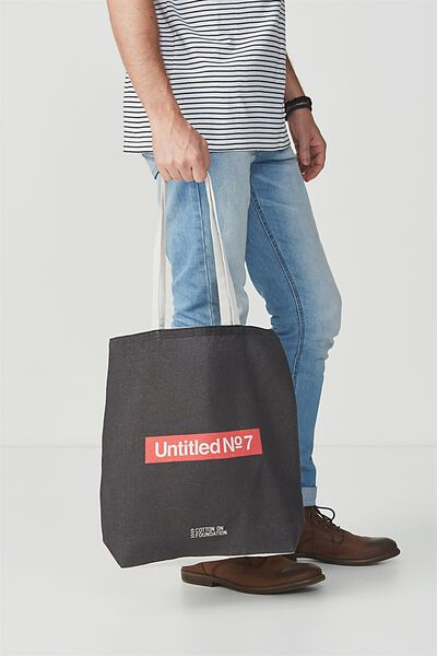 Cotton On Foundation Tote, UNTITLED