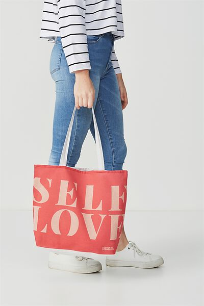 Body Tote Bag, SELF LOVE