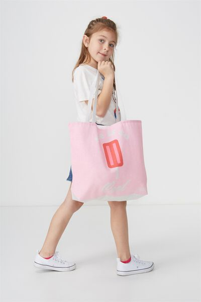 Foundation Kids Tote Bag, SHE IS SO COOL