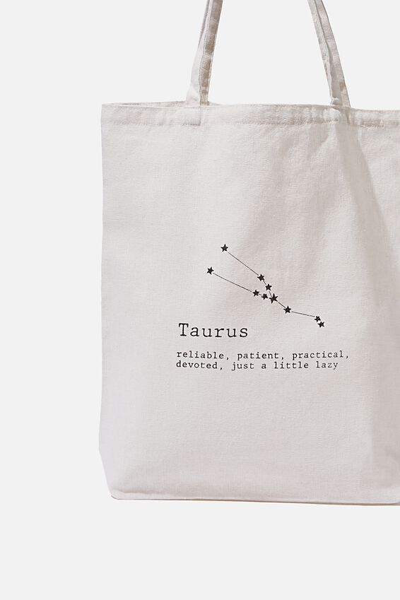 Foundation Online Exclusive Star Sign Tote, TAURUS