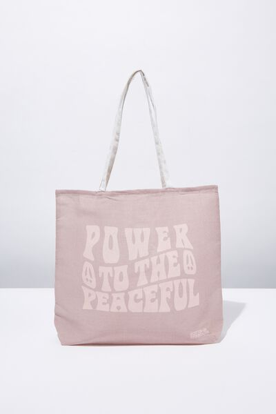 Foundation Tote Bag Adults, PEACEFUL