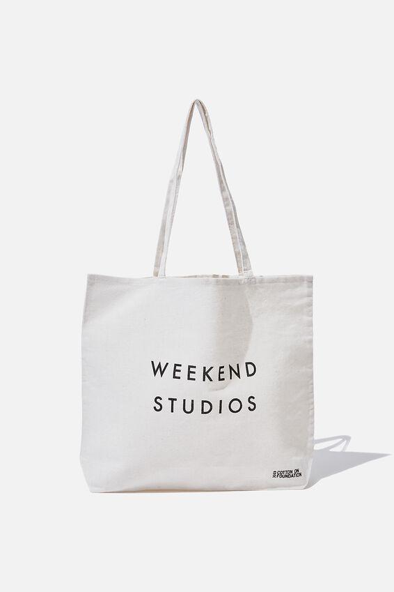 Foundation Tote Bag Adults, WEEKEND STUDIOS