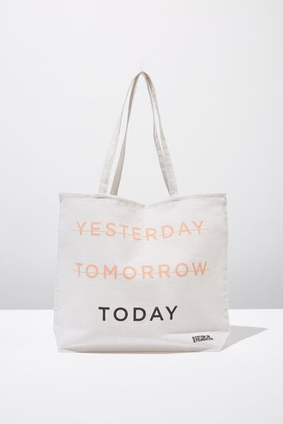 27d7b5759 Typo Difference Tote Bag, TODAY. Cotton On Foundation