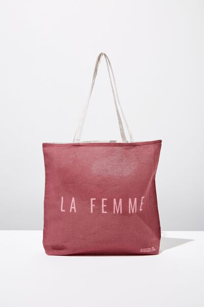 Cotton On Ladies Foundation Tote, NEW LA FEMME