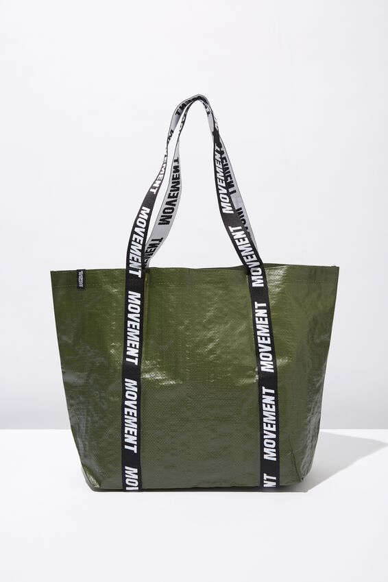 Foundation  Large Shopper, HIKING GREEN