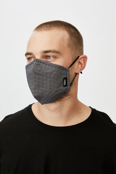 Foundation Mask Typo, BLACK GRID