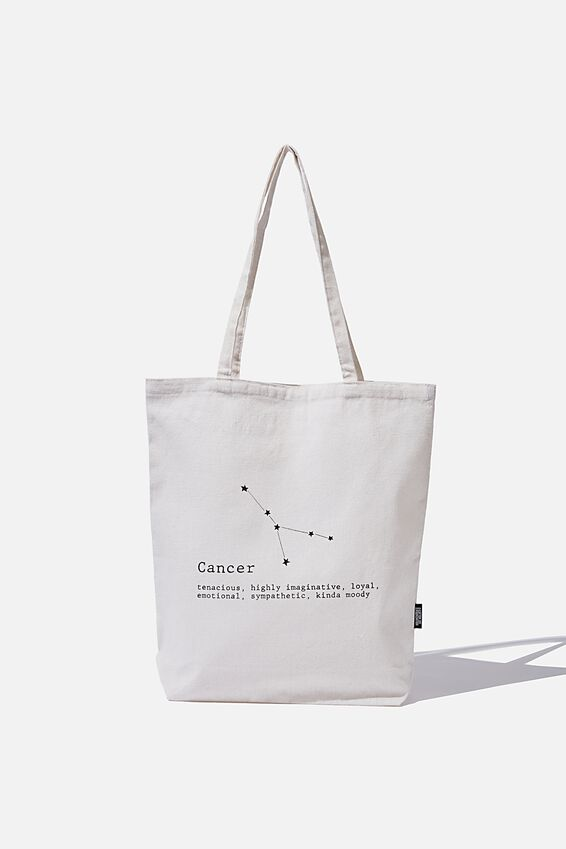 Cof Online Exclusive Star Sign Tote, CANCER