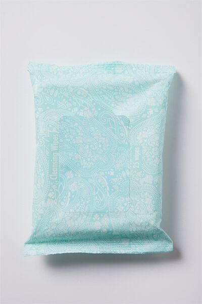 Typo Cleansing Wipes, WHITE LACE