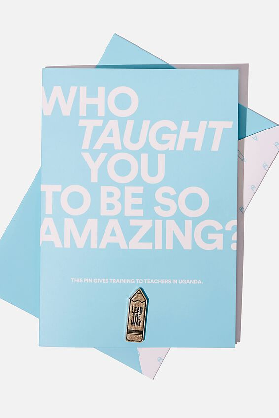 Pins That Give - Teacher Training, GIFTS THAT GIVE - TEACHER TRAINING