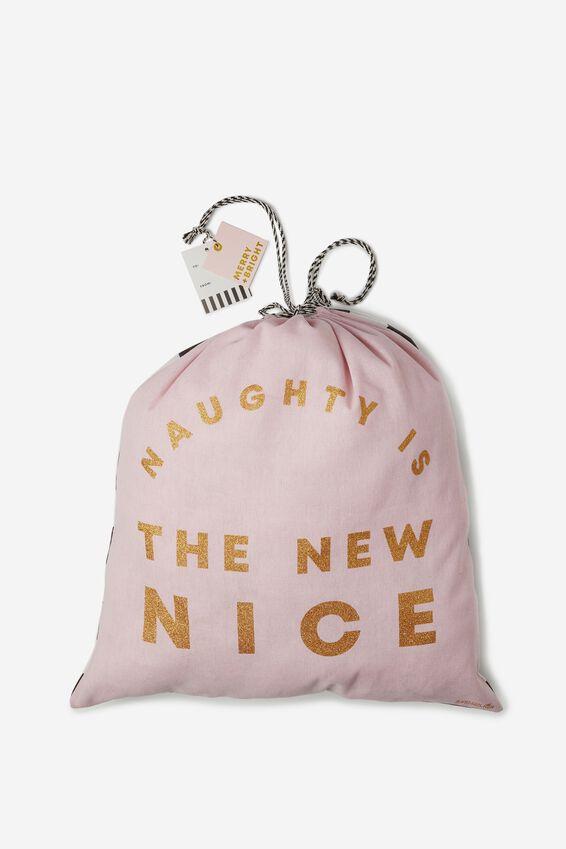 Christmas Gift Bag- Large, THE NEW NICE