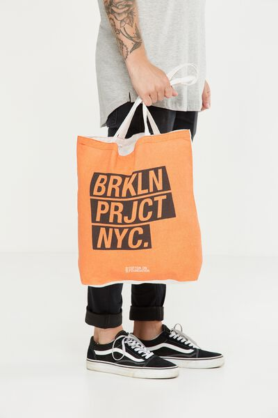 Cotton On Foundation Tote, BROOKLYN PROJECT