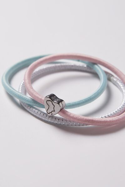 Juliet Band Pack, MINT PASTEL PINK
