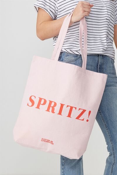 Cotton On Foundation Tote, SPRITZ