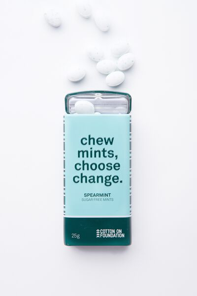 The 100% Difference Mints, GREEN STRIPE SPEARMINT