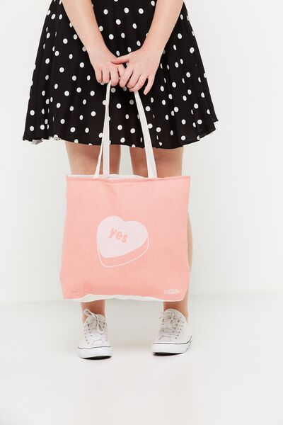 Rubi Foundation Tote, YES HEART