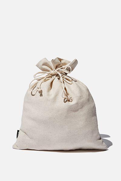 Foundation Medium Gift Bag, NATURAL