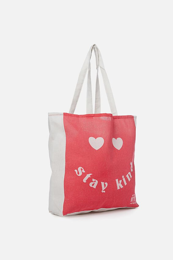 Typo Difference Tote Bag, STAY KIND