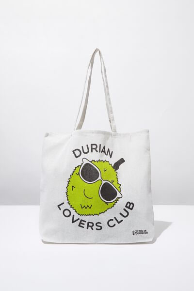 Typo Difference Tote Bag, DURIAN SOCIETY