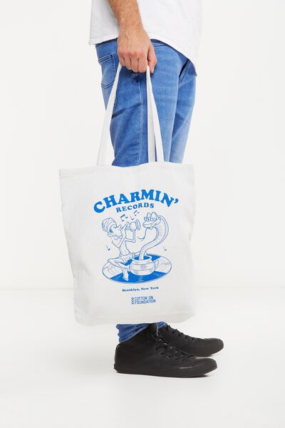 Cotton On Foundation Tote, CHARMIN RECORDS