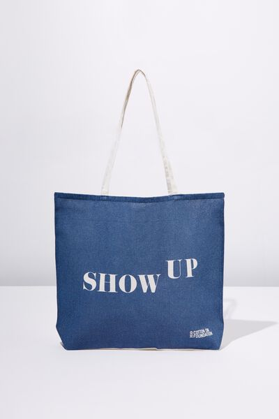 Body Tote Bag, SHOW UP