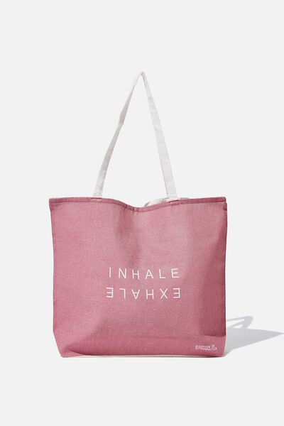 Foundation Tote Bag Adults, SUMMER INHALE