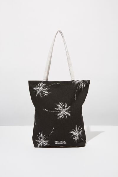 Cotton On Mens Foundation Tote, PALMS