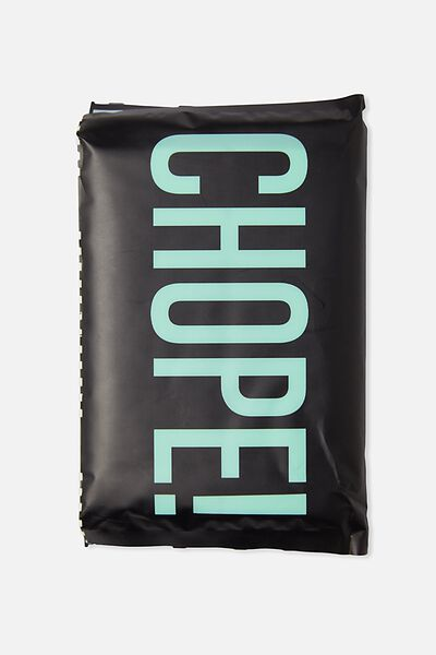 Typo Difference Tissues, CHOPE BLACK