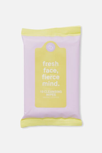 The 100% Difference Cleansing Wipes, ORCHID BLOOM & YELLOW/COCONUT