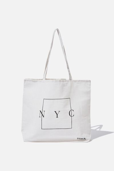 Foundation Tote Bag Adults, SQUARE NYC