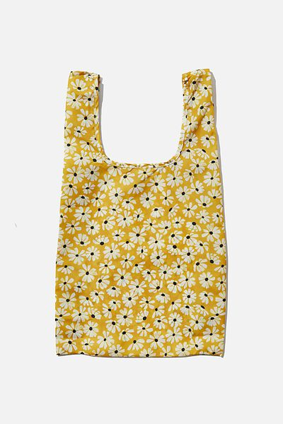 Foundation Recycled Foldable Shopper, AVA DAISY