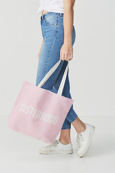 Rubi Foundation Tote, SISTERHOOD