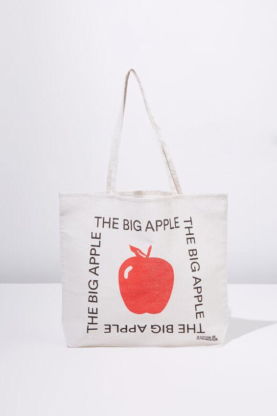 Foundation Tote Bag Adults, BIG APPLE