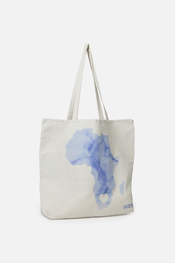 Typo Difference Tote Bag, MAP