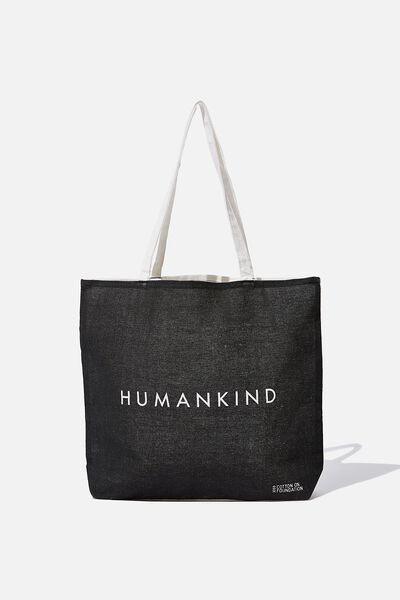 Foundation Tote Bag Adults, DD HUMANKIND