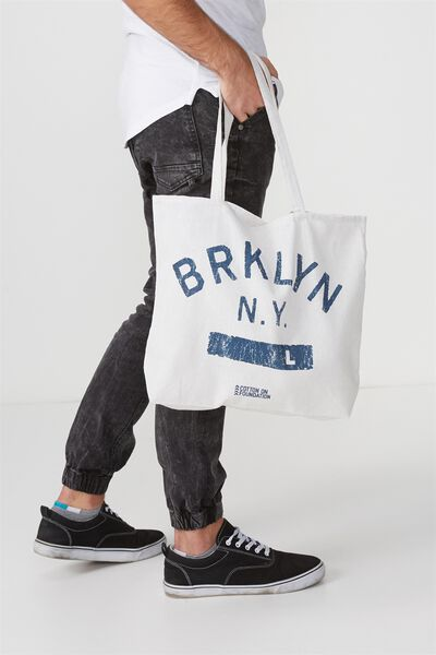 Cotton On Foundation Tote, BRKLYN