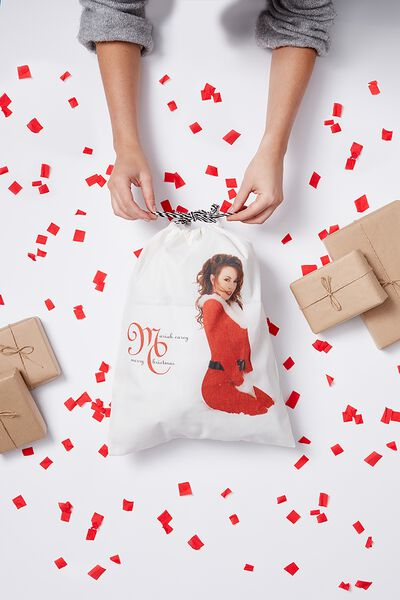 Cof Large Santa Sack, MARIAH CAREY