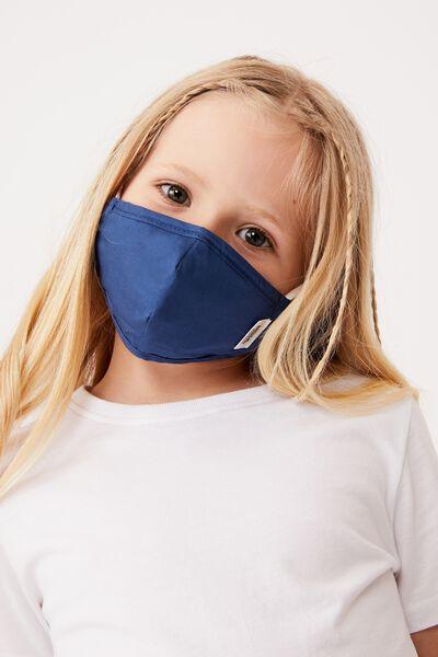 Foundation Face Mask Kids, BLUE