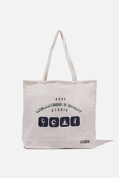 Foundation Body Tote Bag, BODY WELLNESS & SPORT