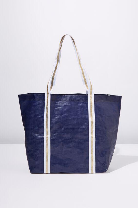 Cof Large Shopper, PATRIOT BLUE