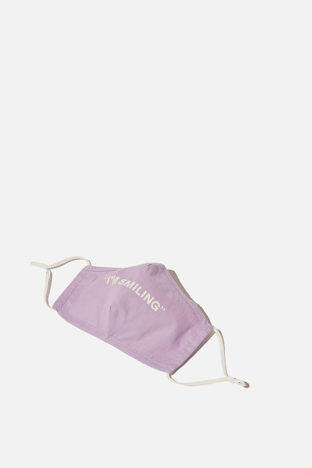 Foundation Face Mask Adults, LILAC SMILE