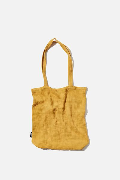 Foundation Fashion Tote, MUSTARD