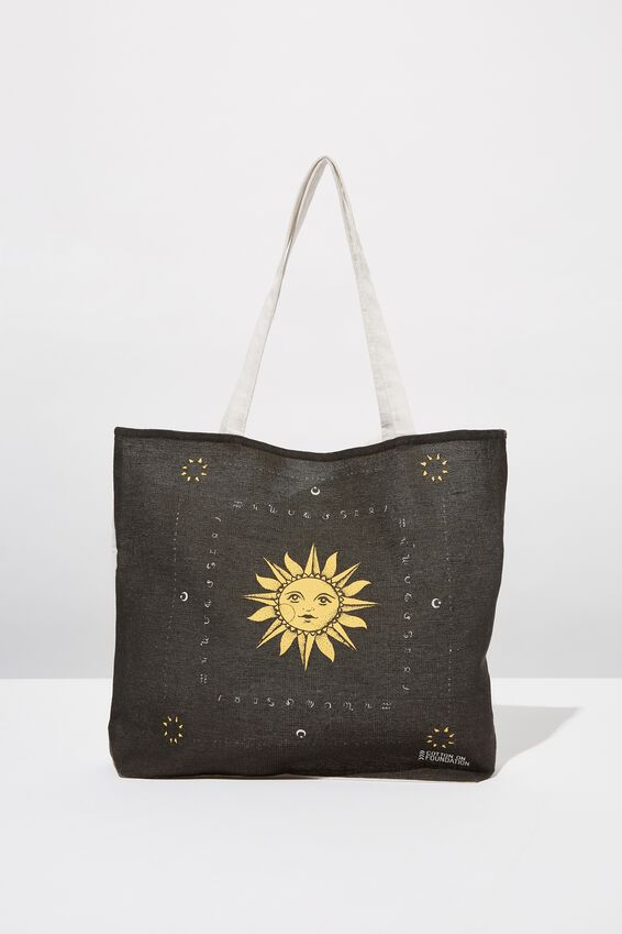 Foundation Tote Bag Adults, SUN