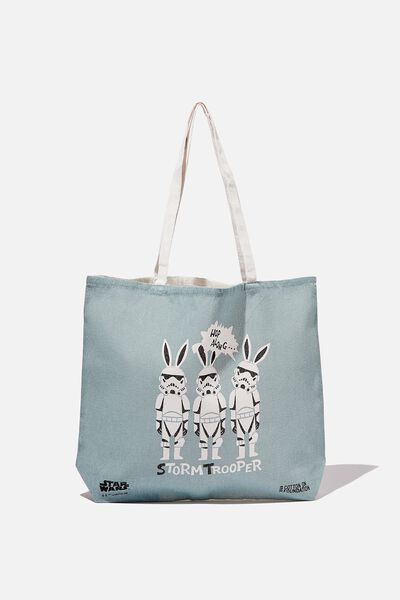 Foundation Kids Tote Bag, BUNNY STORM TROOPER