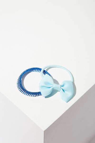 Grace Hair Band Pack, BLUE SURF