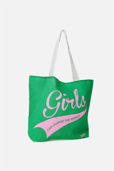 Foundation Kids Tote Bag, GIRLS