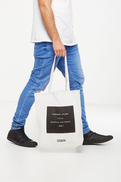 Cotton On Foundation Tote, WEEKDAYS STUDIO