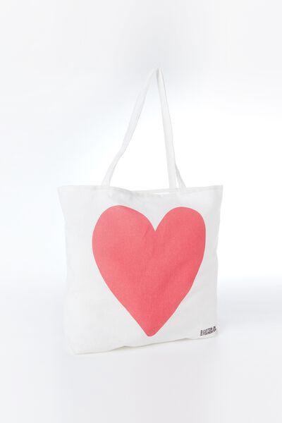 Body Tote Bag, HEART